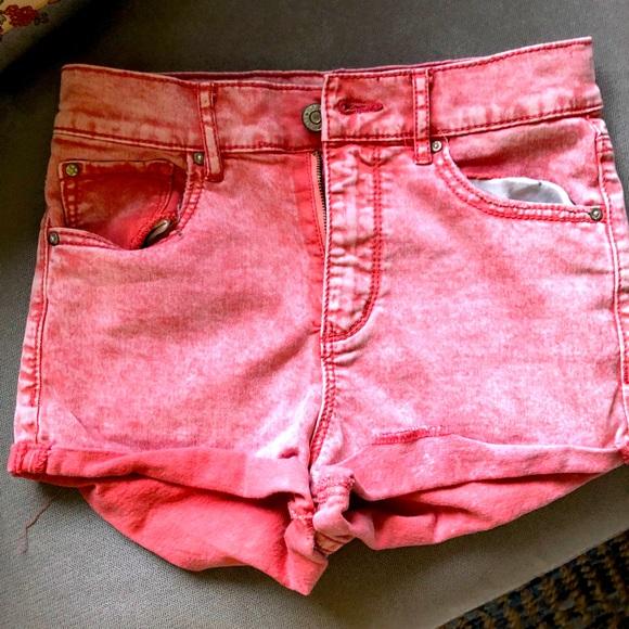 High rise Garage shorts